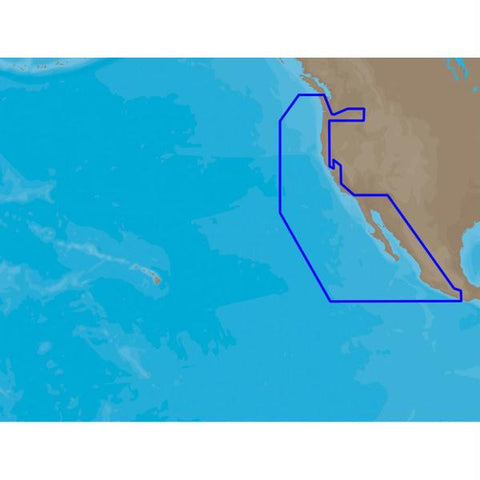 C-MAP NT+ NA-C612 - Ensenada, MX to Cape Flattery, WA - Furuno FP-Card NT+ Wide