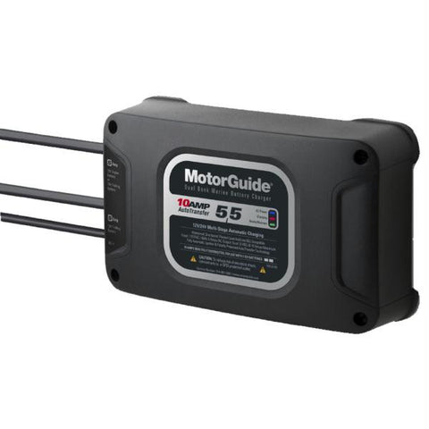 MotorGuide 210 Dual Bank 10A Battery Charger - 5-5 Amps