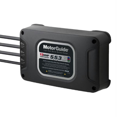 MotorGuide 313 Triple Bank 13A Battery Charger - 5-5-3 Amps