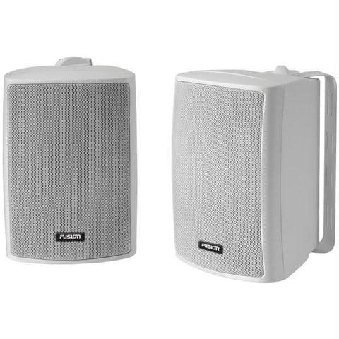 "FUSION 4"" Compact Marine Box Speaker - (Pair) White"