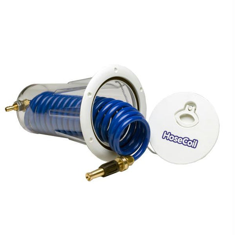 HoseCoil Flush Mount Enclosure w-Nozzle