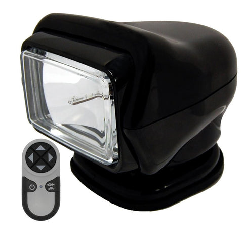 Golight HID Stryker Searchlight w-Wireless Handheld Remote - Magnetic Base - Black
