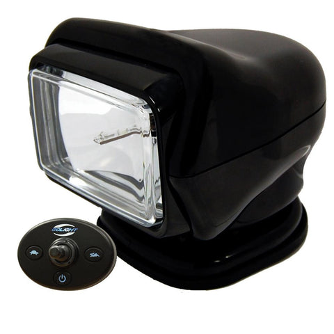 Golight HID Stryker Searchlight w-Wired Dash Remote - Permanent Mount - Black