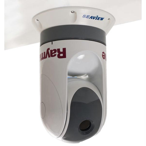 "Seaview 1.5"" Thermal Camera Top Down Riser Mounts Veritcal or Upside Down f-FLIR M-Series & Raymarine T-Series"
