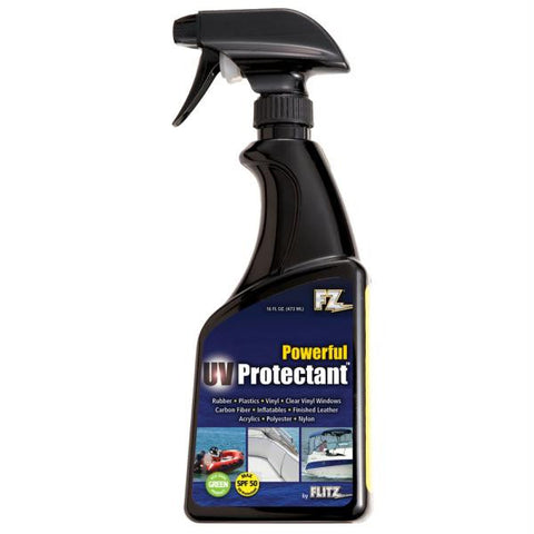 Flitz Marine-RV UV Protectant w-SPF 50 - 16oz Spray Bottle