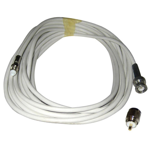 Comrod VHF RG58 Cable w-BNC & PL259 Connectors - 20M