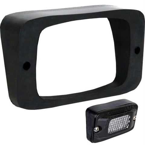 Rigid Industries SR-M Series Angled Flush Mount - Up-Down