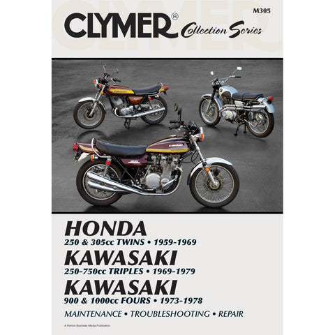 Clymer Collection Series - Vintage Japanese Street Bikes