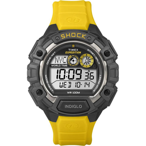 Timex Expedition Global Shock Watch - Yellow