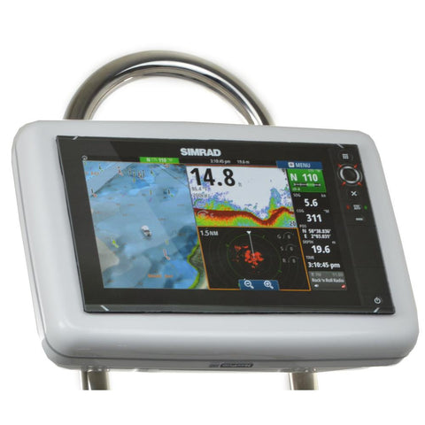 "NavPod GP1202 SailPod Pre-Cut f-Simrad NSS12 evo2 or B&G Zeus² 12 f-9.5"" Wide Guard"