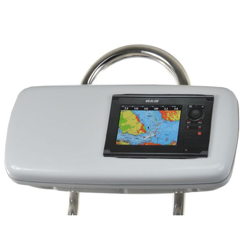 "NavPod GP1040-07 SystemPod Pre-Cut f-Simrad NSS7 or B&G Zeus Touch 7 & Space On The Left f-9.5"" Wide Guard"
