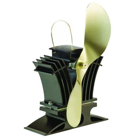 Caframo Ecofan BelAir 806CA Heat Powered Stove Fan - Gold Blade