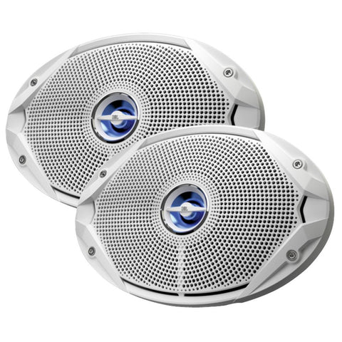 JBL MS9520 300W, 6 x 9 Coaxial Speakers - (Pair) White