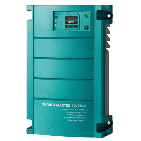 Mastervolt ChargeMaster 25 Amp Battery Charger - 3 Bank, 12V