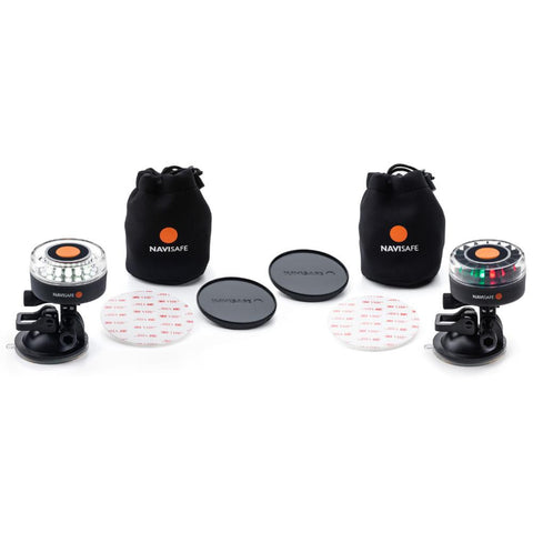 Navisafe Navi Light Dual Kit S Portable Multifunction Navigation TriColor & Navigation-MOB Combo Light Kit
