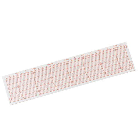 BARIGO Replacement Paper Graph f-2018.1 Recording Instrument