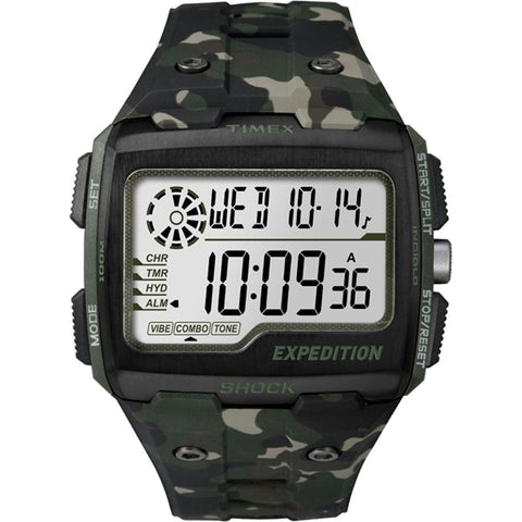 Timex Expedition Grid Shock  - Camo Green