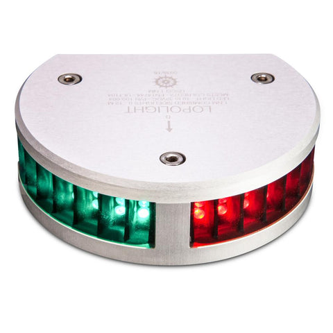 Lopolight Combined SideLights - 1nm f-Vessels up to 39'(12M) - Half Circle Housing - Horizontal Mounting