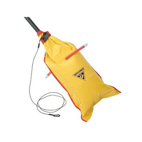 Dual-Chamber Paddle Float, Yellow