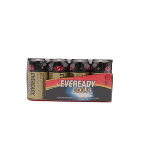 Eveready Gold C Batteries - Per 8