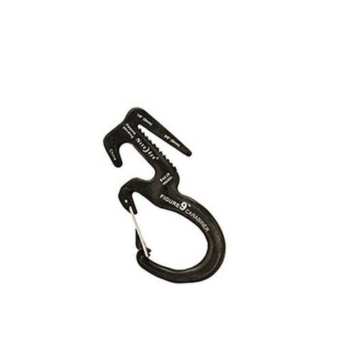 Figure 9 Carabiner - Large, Black