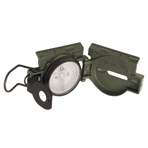Official US Miltary Tritium Lensatic Compass - Gift Box