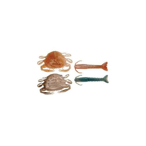 "Gulp! Alive! Assortment 3"" Shrimp, 2"" Peeler Crab"