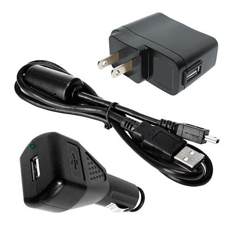 ActionCam Accessory ValuePack w-AC-DC Charger-USB