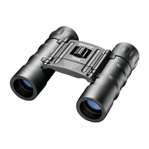 Essentials Binoculars - 10X25mm, Compact, Roof Prism, Black, Clam Package