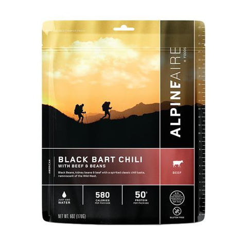 Black Bart Chili w-Beef & Beans Serves 2