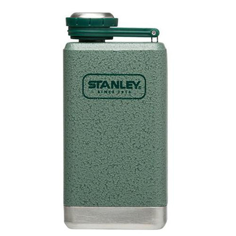 Adventure Stainless Steel Flask, 5 oz - Green