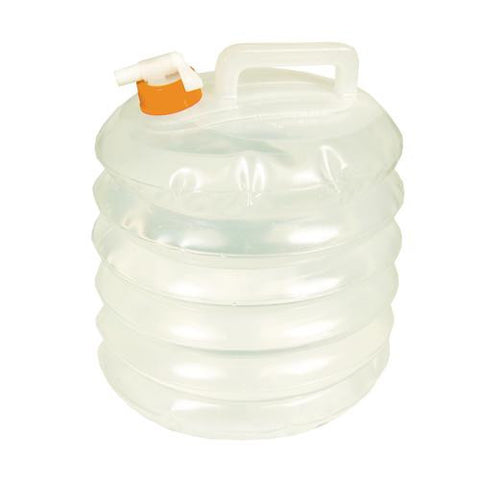 Water Carrier, Clear - Accordian 8 Liter