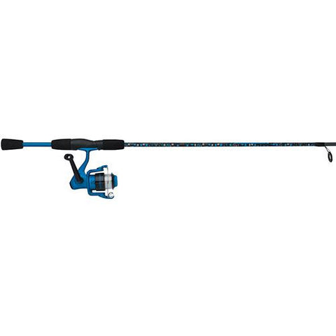 "Amphibian Spinning Combo - 30, 1 Bearings, 5'6"" Length, 2 Piece Rod, Medium, Blue, Ambidextrous"