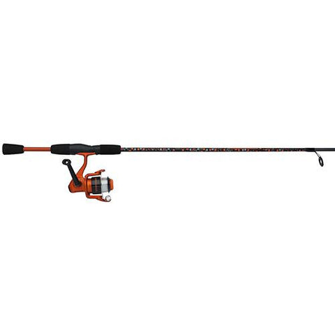 "Amphibian Spinning Combo - 30, 1 Bearings, 5'6"" Length, 2 Piece Rod, Medium, Orange, Ambidextrous"
