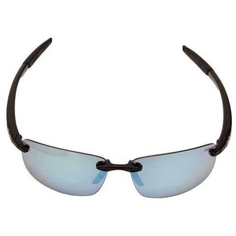 Descend N Sunglasses - Black Frame, Blue Water Serilium Lens