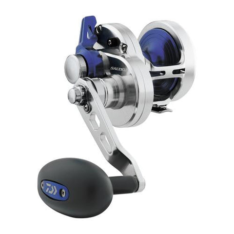 Saltiga Hyper Speed Lever Drag Saltwater Reel - 20, 7.3:1 Gear Ratio, 6CRBB, 2RB Bearings, 26 lb Max Drtag, Right Hand