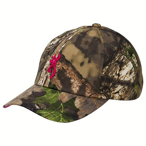 3D Buckmark Low Profile Camo Cap, Mossy Oak Break-Up