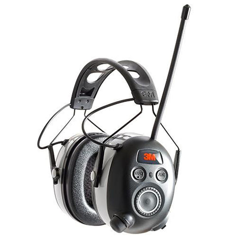 Work Tunes Wireless Hearing Protector with Bluetooth Technology, Black
