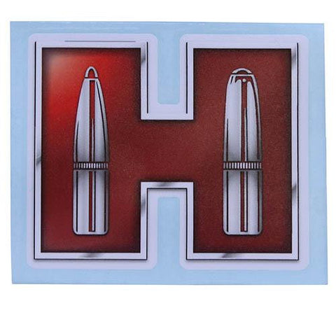 "Red ""H"" Transfer Sticker"