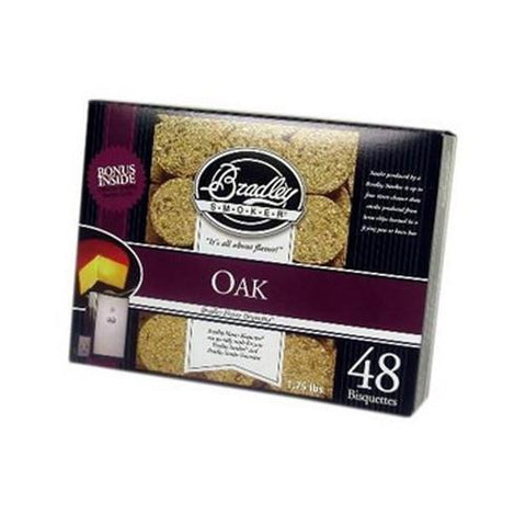 Smoker Bisquettes - Oak (48 Pack)