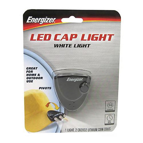 3-LED Cap Light - 14 Lumens