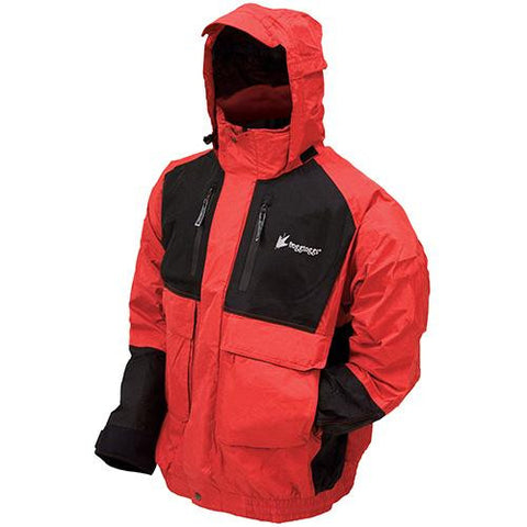 Firebelly Toadz Jacket Black-Red - Large