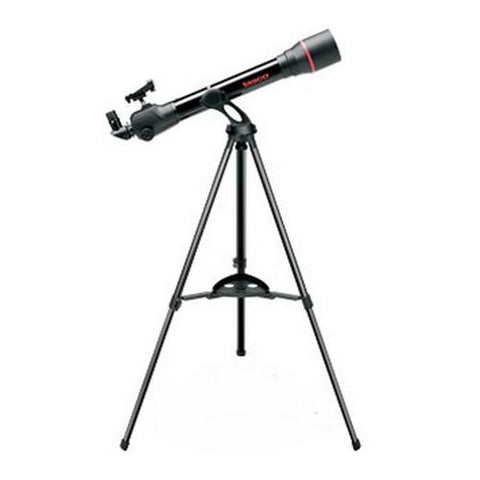70x800mm SpaceStation Black Refractor Red Dot FinderScope