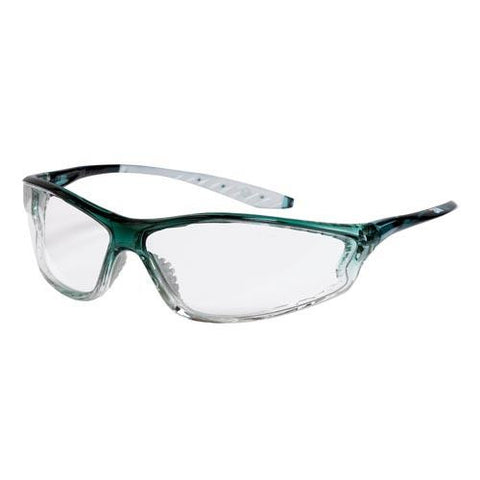 Clear Lenses - Green Frame