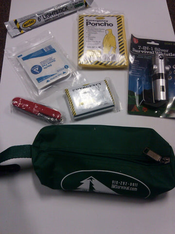 IM Survival 14 Piece Lightweight Emergency Survival Kit
