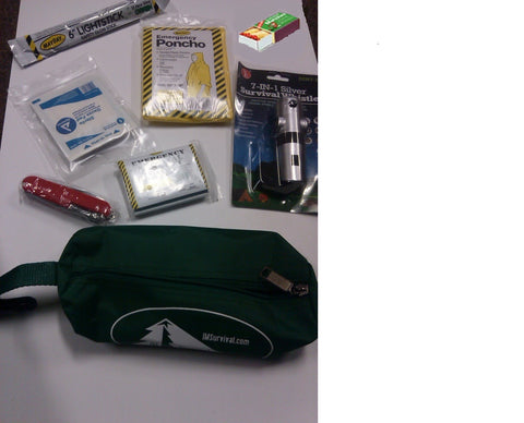 IM Survival 15 Piece Lightweight Emergency Survival Kit