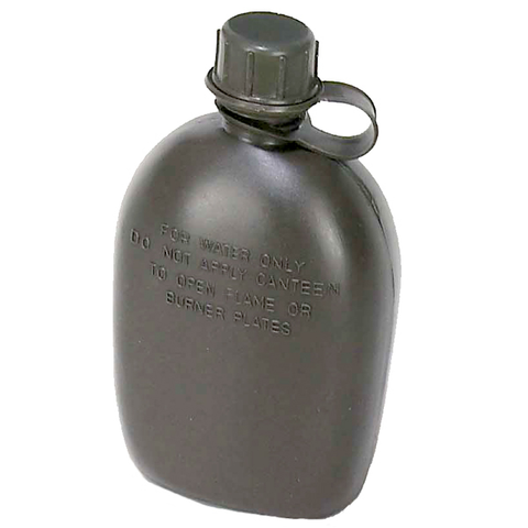 GI Canteen 1qt-OD Body Only -Plastic