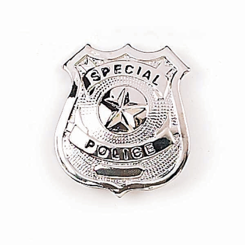 Badge-Special Police-Silver Star