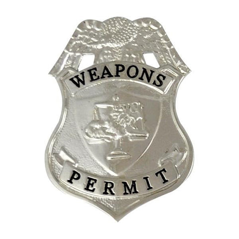 Badge-Weapons Permit Silver Eagle