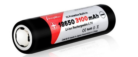 mAh Li-ion Rechargeable 3.7v Battery